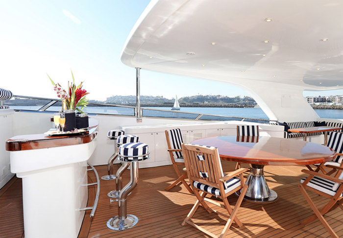 Marina del Rey yacht charter luxury
