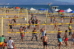 Manhattan Beach Festival Volleyball Competition
