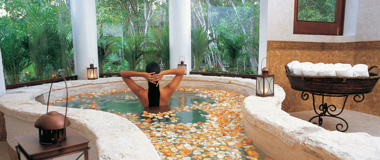 Beautiful Kinan Spa at Belmond Maroma, Playa del Carmen.