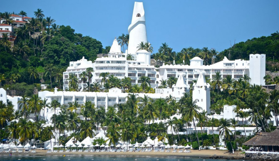 Best Manzanillo Beach Hotels The Las Hadas by Brisas
