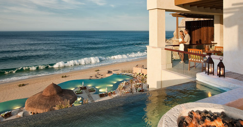 One of the very best beach hotels in Mexico. Waldorf Astoria Los Cabos Pedregal