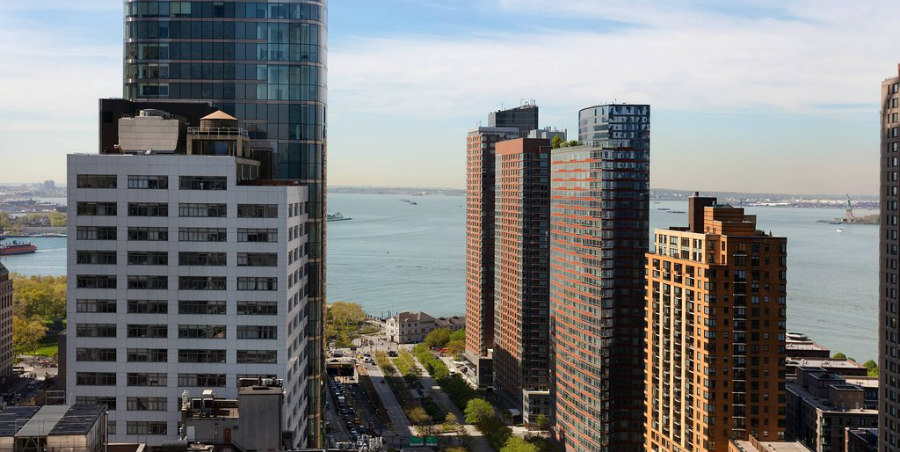 New York Waterfront Hotels Marriott Downtown