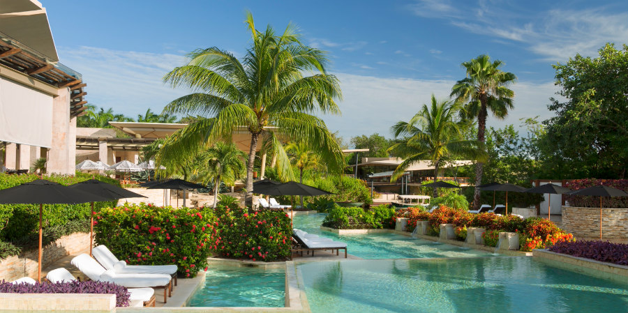 Rosewood Mayakoba Resort, one of the best Playa del Carmen beach Hotels!