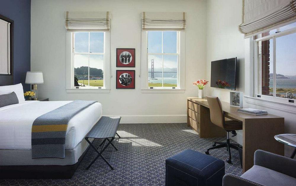 San Francisco Waterfront Hotels, Lodge at the Presidio