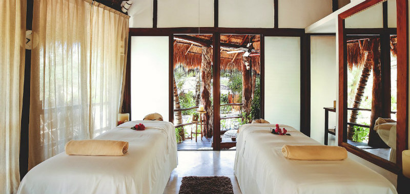 Tulum Beach Hotels: Cabanas Tulum Couples Spa