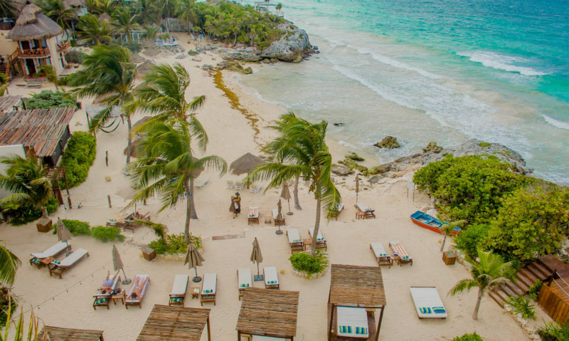 Tulum Beach Hotels: Maria del Mar Cove
