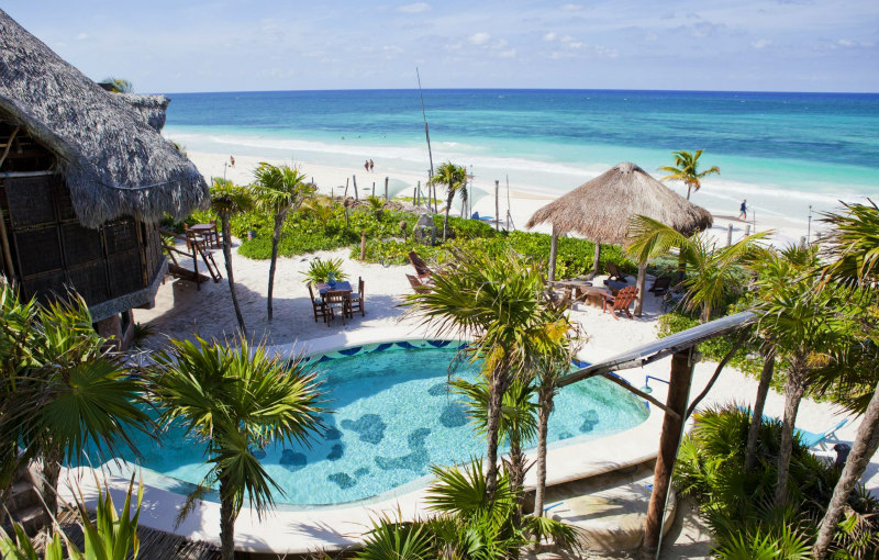 Tulum Beach Hotels: Suenos Tulum Beachfront Hotel