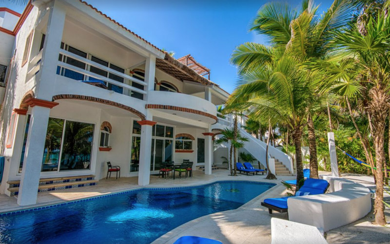Tulum Beachfront Vacation Rentals