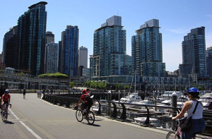 The Vancouver Waterfront Seawall
