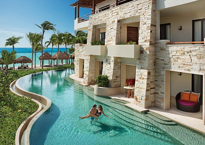 Adult Only Secrets Akumal Beach Hotel