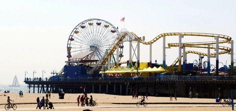 Santa Monica Pier and Amusement Park