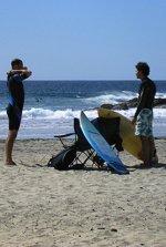 Mazatlan surfing