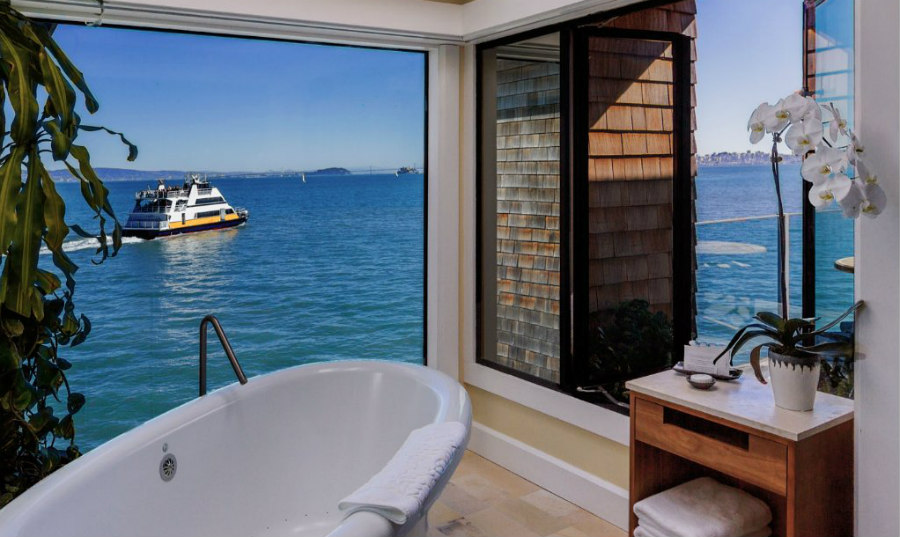 Sausalito Waterfront Hotels: The Inn Above Tide Penthouse Suite