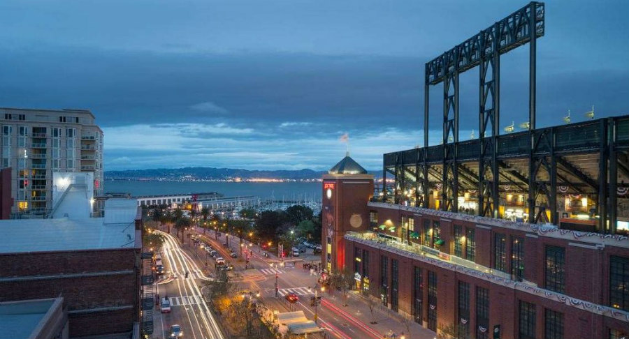 Hotel Via located near the San Fran waterfront
